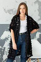 Женская накидка / декорированная органза / Украина 44-0168, фото 1