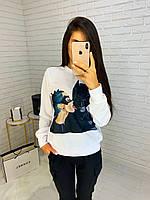 Женский свитшот с принтом, фото 1