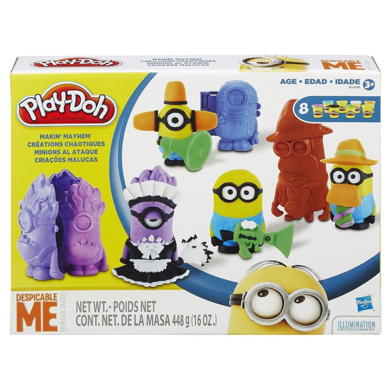Игровой набор для творчества Переполох Миньонов - Minions, Despicable ME, Play-Doh, Hasbro - 143543, фото 1