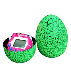 Игрушка электронный питомец Тамагочи в Яйце Динозавра KS Eggshell Game Green - 150690