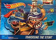 """Трек Хот Вилс Акула """"hot wheels акула"""" - машина меняет цвет в воде"""