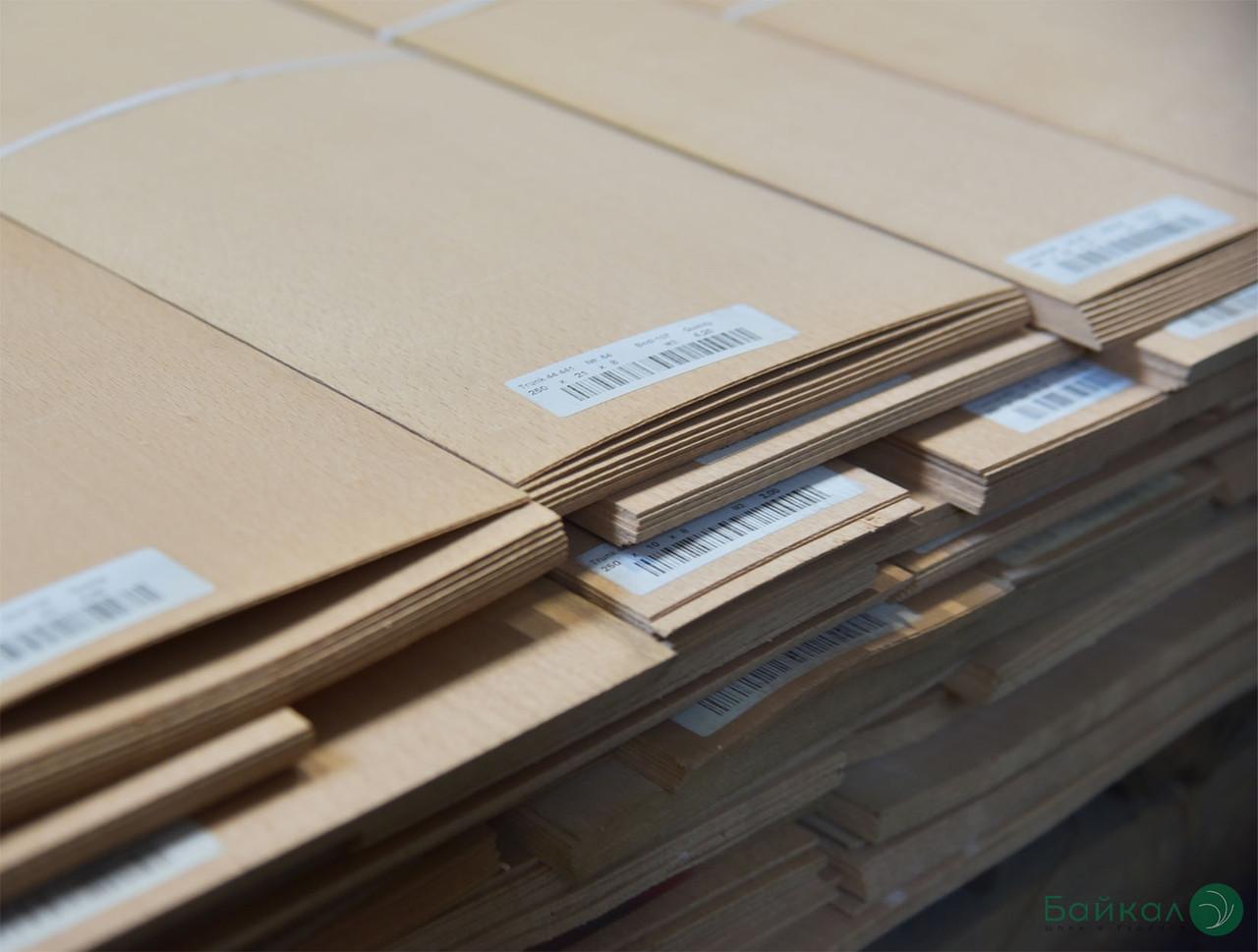 Шпон Бука - 1,5 мм довжина от 0,80 - 2,05 м / ширина от 10 см (I готунок)