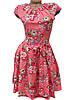Женское платье из штапеля. Лето 42-44 (в расцветках), фото 2