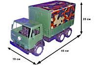 Автомобиль К-маз Х2 тент военный