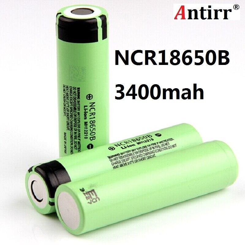 Аккумулятор Panasonic NCR18650В 3400mAh/8,0A - фото 1