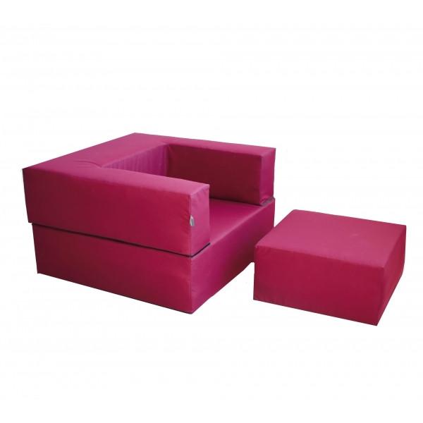 Комплект мебели Zipli (кресло и пуф). ТК039