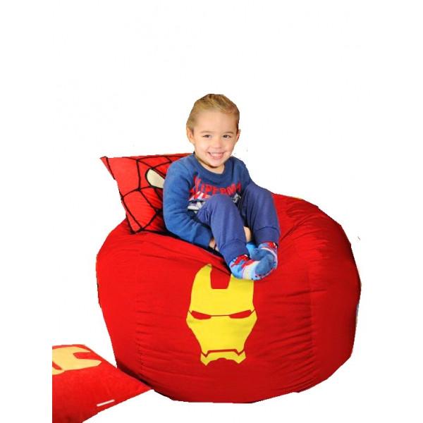 Кресло мешок мяч Железный человек. ТК051