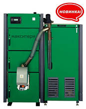 Пеллетный котел Макситерм ПРОФИ 50 кВт с факельной горелкой Eco-palnik Uni-Max