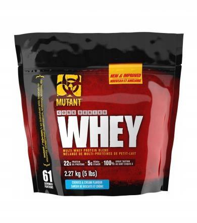 Протеин PVL  Mutant Whey 2270g (Strawberry)