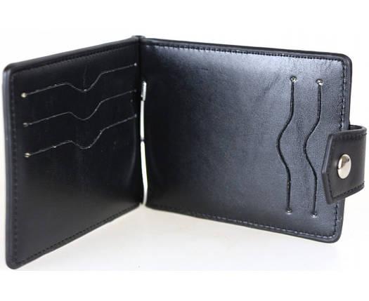 Мужской кошелек-зажим черный BR-S 1013632831, фото 2
