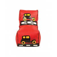 Кресло мешок  детский Машинка красная. ТК167