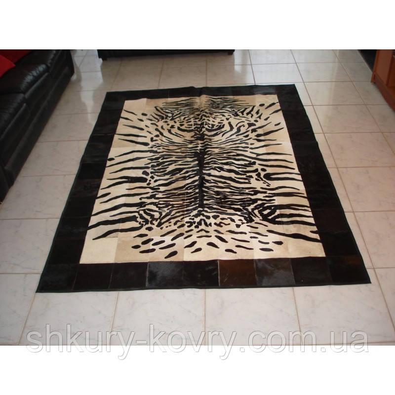 Шкура ковер под тигра, купить натуральный ковер с рисунком