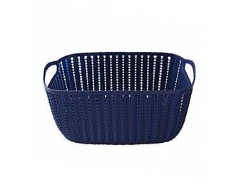 Корзинка для полотенец плетение 2 л Bathlux Menara Eiffel 70270 R132654