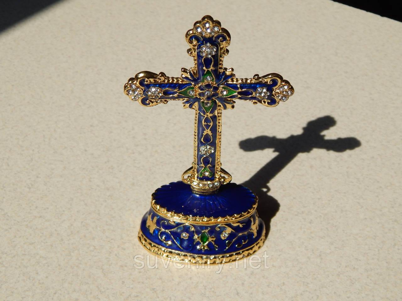 Подарунковый крест-мощевик
