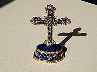 Подарунковый крест-мощевик , фото 1