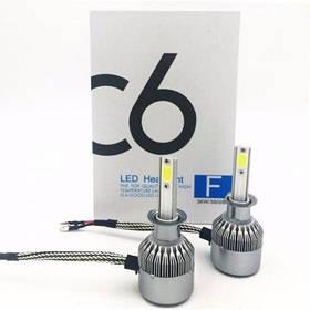 Комплект LED ламп C6 HeadLight H3 12v COB