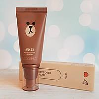 ВВ крем MISSHA M Perfect Cover BB Cream [Line Friends Edition]  #23 Natural Beige 50 мл