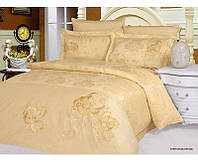 Комплект постільної білизни Le Vele Stephania Cream жакардовий 220-200 см
