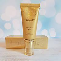 ВВ крем с золотом №21 Светлый беж MISSHA M Gold Perfect Cover BB Cream (SPF42/PA+++)  #21 Light Beige 50 мл