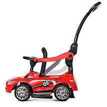 Толокар Bambi (M 4074L-3) Красный, MP3, Mercedes AMG, фото 2