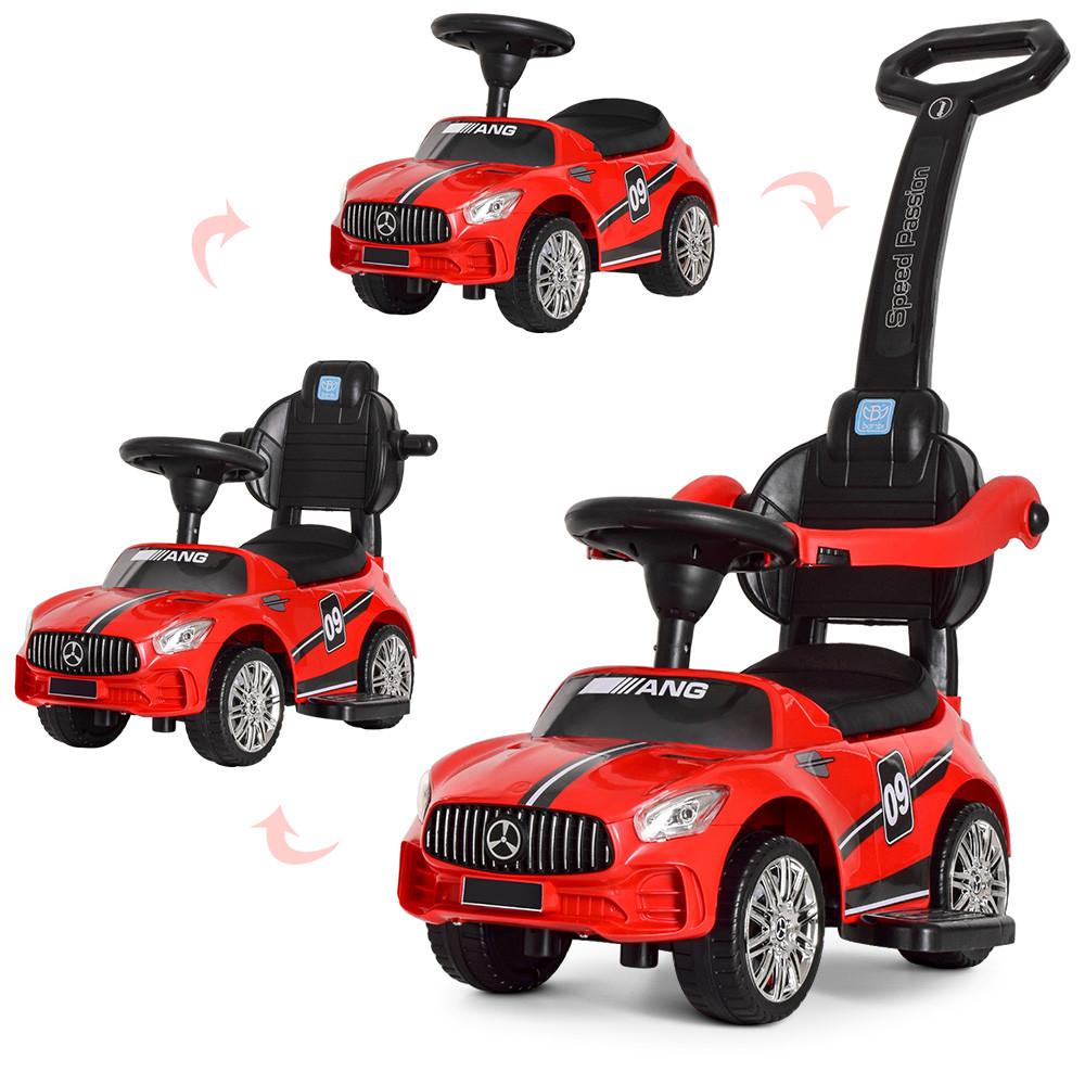 Толокар Bambi (M 4074L-3) Красный, MP3, Mercedes AMG
