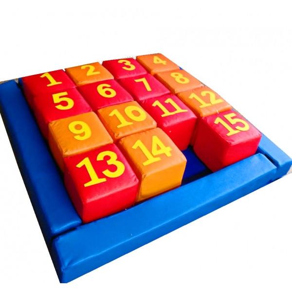Набор кубиков Пятнашки. ТК314