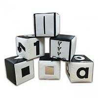 Набор кубиков черно-белый. ТК316