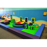 Мягкая детская игровая зона до 50 кв.м. ТК329