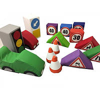 Игровой набор Правила дорожного движения. ТК331