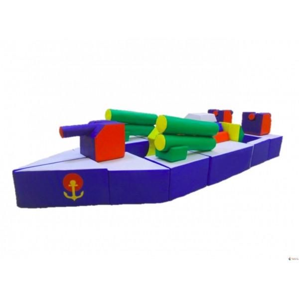Модуль-трансформер Военный корабль. ТК335