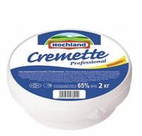 Крем сир Кремете Хохланд в фасовці 1 кг
