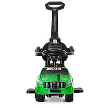 Толокар Bambi (M 4074L-5) Зеленый, MP3, Mercedes AMG, фото 3
