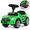 Толокар Bambi (M 4074L-5) Зеленый, MP3, Mercedes AMG, фото 4