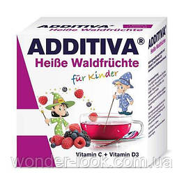 Additiva для детей при первых признаках простуды с 4 лет