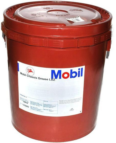 Смазка Mobil Chassis Grease LBZ, тара 18 кг