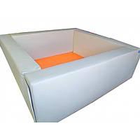 Сухой бассейн квадратный белый. ТК534