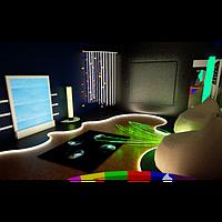 Сенсорная комната Космос с оборудованием. ТК579