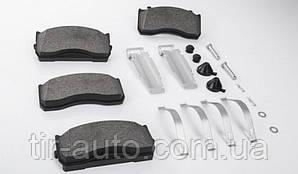 Колодки тормозные дискового тормоза с монтажным комплектом Man TGL, Mercedes Atego 29115/29148