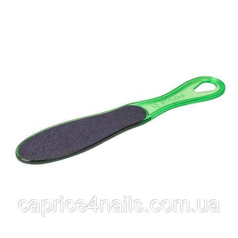 Терка для стоп пластикова CLASSIC 11 TYPE 1 (100/180), AC 11/1 (зелена)