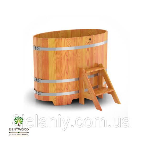 Купель для бани овальная BentWood 800x1420
