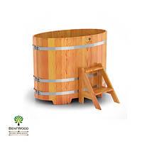 Купель для бани овальная BentWood 800x1420, фото 1