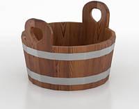 Шайка для бани и сауны  BentWood 15 л