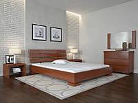 Кровать деревянная Премьер ТМ Арбор Древ 1800х2000, яблоня локарно, сосна