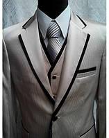 Мужской свадебный костюм-тройка М-А_1001 (размер 52, 54)