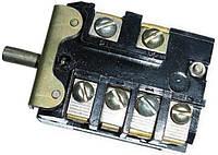 ПМЭ 16 - Встраиваемый 5-ступенчатый переключатель мощности с клеммой для сигнальной лампы, 250В, 16А, Т150°C