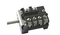 ПМЭ 05 - Встраиваемый 5-ступенчатый переключатель мощности с клеммой для сигнальной лампы, 250В, 16А, Т150°C