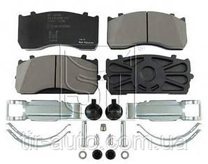 Комплект тормозных колодок, дисковый тормоз WVA 29115/29148 ( ST-TEMPLIN )