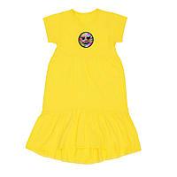 Платье для девочки желтого цвета