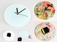 Часы для сублимации д 29 мм стекло