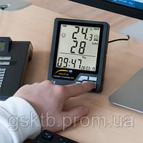 Термогигрометр с внутренним и выносным датчиком температуры PCE-HT 50 (Германия), фото 3